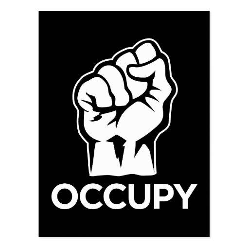 Ocupe Wall Street - somos los 99% Tarjeta Postal