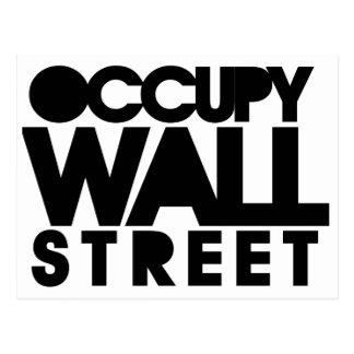 Ocupe Wall Street Tarjeta Postal