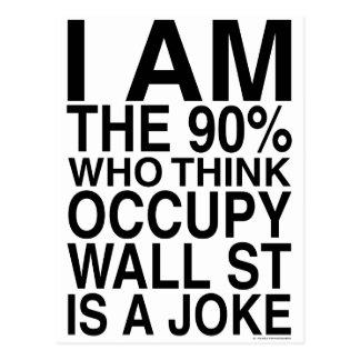Ocupe Wall Street Tarjetas Postales
