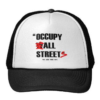 Ocupe Wall Street todas las calles que somos los 9 Gorro De Camionero