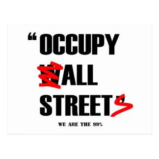 Ocupe Wall Street todas las calles que somos los Postal