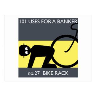 ¡ocupe Wall Street - tome su bici! Tarjetas Postales