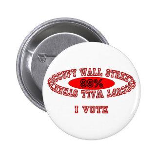 Ocupe Wall Street - voto de I Pin