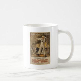 Ocúpese a mi gente taza de café