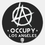 Ocuupy LA Sticker