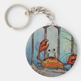 Ocypoid Crab Keychain