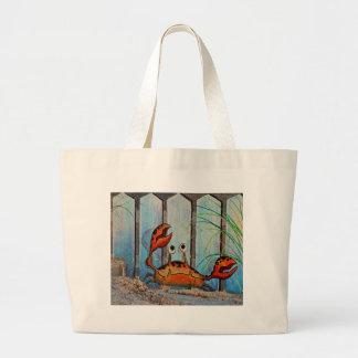 Ocypoid Crab Large Tote Bag