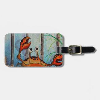 Ocypoid Crab Luggage Tag