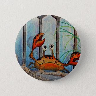Ocypoid Crab Pinback Button