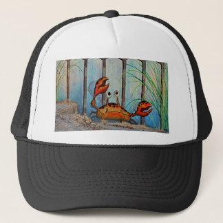 Ocypoid Crab Trucker Hat