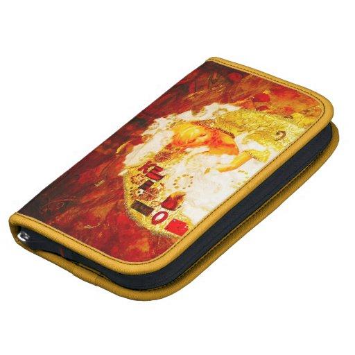 Oda a Klimt - folio de Smartphone del carrito Organizadores