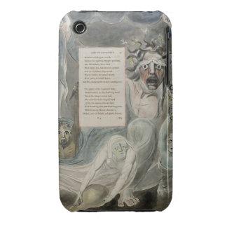 """Oda a la adversidad, """"de los poemas de Thomas Gray Case-Mate iPhone 3 Fundas"""