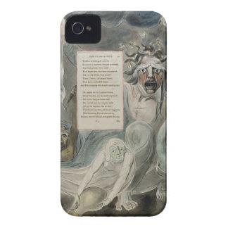 """Oda a la adversidad, """"de los poemas de Thomas Gray Case-Mate iPhone 4 Carcasa"""