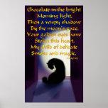 Oda a un gato negro poster