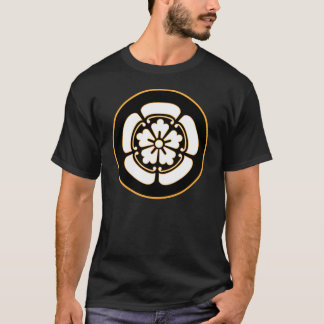 Oda Clan Mon - White/Black/Gold T-Shirt