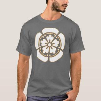 Oda Clan Mon - White/Gold T-Shirt