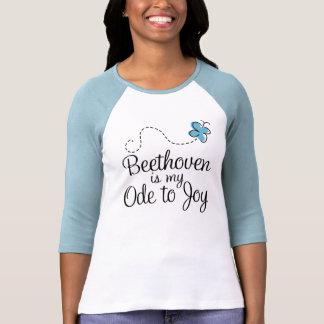 Oda de Beethoven a la camiseta de la alegría