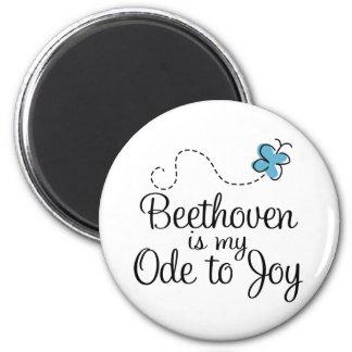 Oda de Beethoven al regalo de la música de la Imán Redondo 5 Cm
