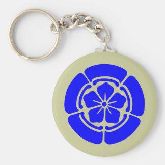 Oda Kamon, Japan Basic Round Button Keychain