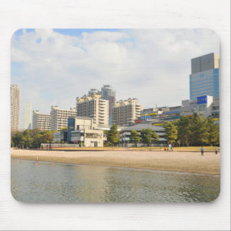 Odaiba district in Tokyo, Japan Mouse Pad