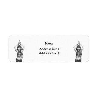 Odalisk Return Address Label