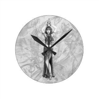 Odalisk Round Clock