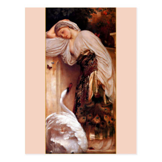 Odalisque 1862 By Lord Frederic Leighton Post Cards