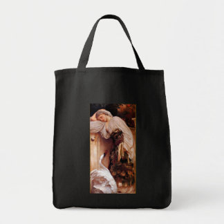 Odalisque 1862 By Lord Leighton Tote Bag