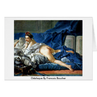 Odalisque By Francois Boucher Greeting Card