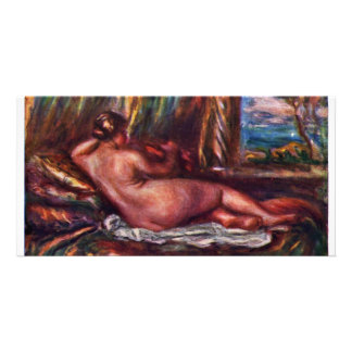 Odalisque By Pierre-Auguste Renoir (Best Quality) Picture Card