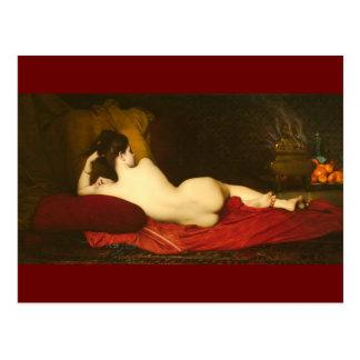 Odalisque - Lefebvre Postcard