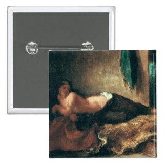 Odalisque Pinback Button