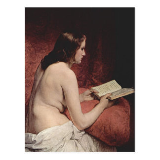 Odalisque with Book Post Cards