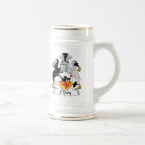 O'Daly Family Crest Beer Stein