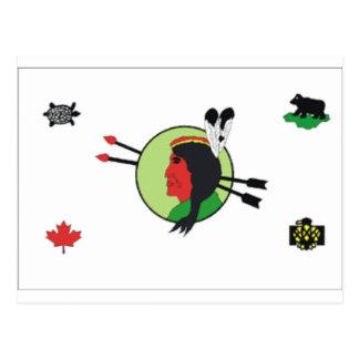 Odanak_First_Nation_%28Abenaki%29 Postcard