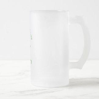 O'Danny Boy Frosted Glass Beer Mug