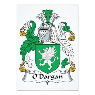 O'Dargan Family Crest Card