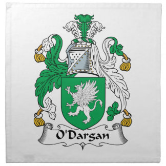 O'Dargan Family Crest Cloth Napkin
