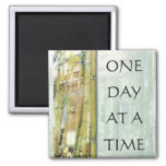 ODAT Bamboo Garden 2 Inch Square Magnet