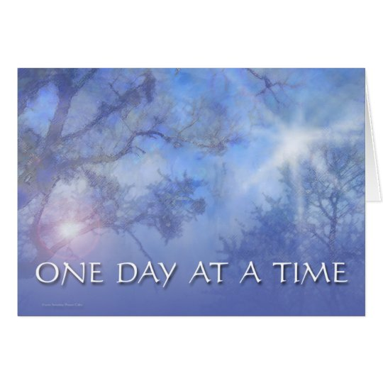 ODAT Blue Trees Card