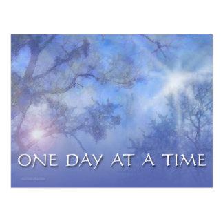 ODAT Blue Trees Postcard