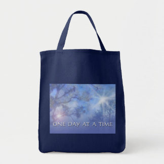 ODAT Blue Trees Tote Bag
