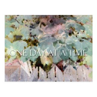 ODAT Leaves & Fence Postcard