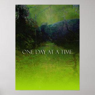 ODAT Mountain Road in Green Print