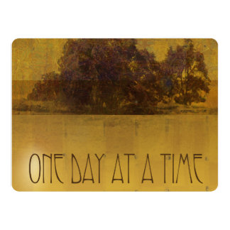 ODAT Oaks by Lake Square 6.5x8.75 Paper Invitation Card