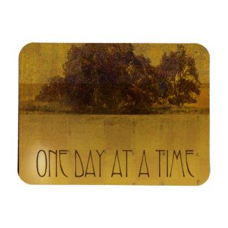 ODAT Oaks by Lake Square Rectangular Photo Magnet