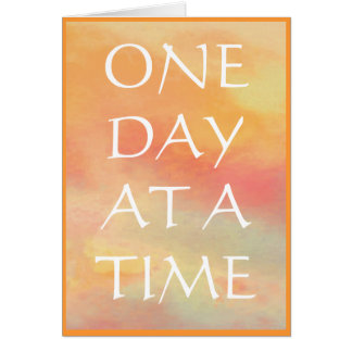 ODAT One Day at a Time Card