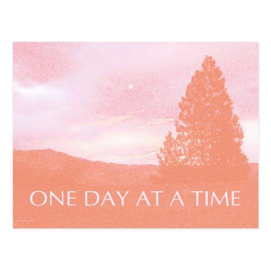 ODAT Orange Pink Daybreak Postcard