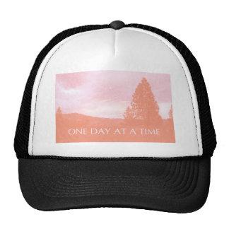 ODAT Orange Pink Daybreak Trucker Hat