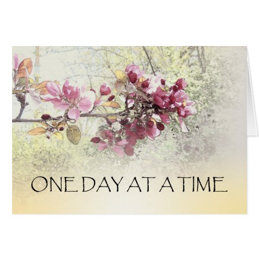 ODAT Pink Blossoms Greeting Card